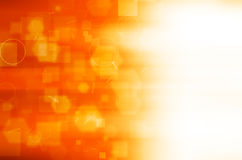 Abstract orange technology background. Royalty Free Stock Photo