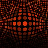 Abstract Orange Technology Background Stock Image