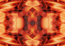Abstract Orange Textured Background Stock Photo