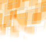 Abstract orange tile particle background Royalty Free Stock Photos