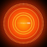 Abstract Orange Vector Background Stock Photo