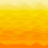 Abstract orange wave background Stock Image