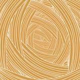 Abstract Orange Wave Background Stock Image