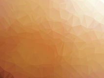 Abstract orange white gradient polygon shaped background Royalty Free Stock Photo