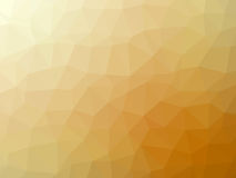 Abstract orange white gradient polygon shaped background Stock Images