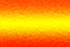 Abstract orange-yellow with crystallize effect, use as the background of an element. Royalty Free Stock Images