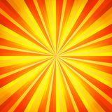 Abstract orange and yellow line background. Vector Royalty Free Stock Photos