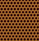 Abstract orange and yellow pattern background Stock Images
