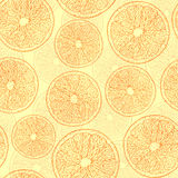Abstract oranges Stock Photography