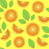 Abstract oranges Royalty Free Stock Image