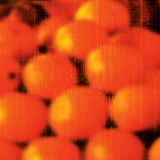 Abstract Oranje Fruitart. Royalty-vrije Stock Afbeeldingen