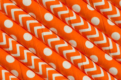 Abstract oranje patroon als achtergrond Royalty-vrije Stock Foto