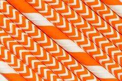 Abstract oranje patroon als achtergrond Stock Foto