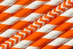 Abstract oranje patroon als achtergrond Stock Afbeelding