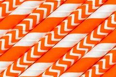 Abstract oranje patroon als achtergrond Stock Afbeeldingen