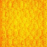 Abstracte oranje vectorachtergrond Royalty-vrije Stock Afbeelding