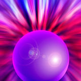 Radiating orb Royalty Free Stock Photo