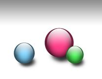 Abstract orbs Royalty Free Stock Image