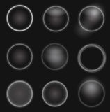 Abstract orbs collection Stock Image