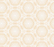 Abstract oriental floral seamless pattern. Arabic flower geometr. Flourish tiled pattern. Floral oriental ethnic background. Arabic ornament with fantastic Stock Image