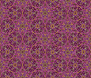 Abstract oriental floral seamless pattern. Arabic flower ornament. Abstract oriental floral seamless pattern. Flower geometric ornamental background. Floral royalty free illustration