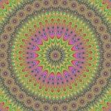 Abstract oriental fractal mandala design Royalty Free Stock Photography