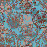 Abstract oriental seamless pattern Stock Photography