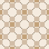 Abstract oriental seamless pattern. Abstract seamless pattern with geometric ornaments royalty free illustration