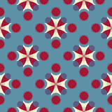 Abstract oriental seamless pattern. Abstract seamless pattern with geometric ornaments Stock Photos