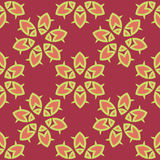 Abstract oriental seamless pattern Stock Photos