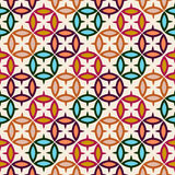 Abstract oriental seamless pattern Royalty Free Stock Image