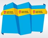 Abstract Origami Banner. Abstract Origami Banner Vector.EPS10 vector illustration