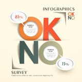 Abstract origami reply comments chart infographics Stock Photo