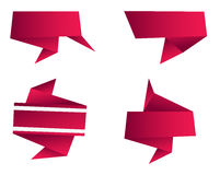 Abstract Origami Shape Stock Images