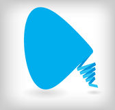 Abstract origami speech bubble vector background. This is file of EPS10 format Stock Photos