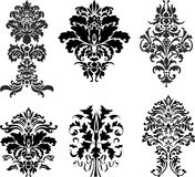 Abstract ornament. Collection of abstract design ornament Royalty Free Illustration