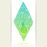 Abstract Ornament Alchemical Bottle Stock Photography