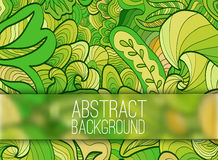 Abstract ornament background concept with glasses Royalty Free Stock Photography