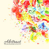 Abstract ornament background concept. Vector Stock Image