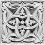 Abstract ornament, bas-relief Stock Image