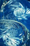 Abstract an ornament cut into the glass. Abstract background an ornament cut into the glass Stock Photography
