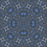 Abstract Ornament Fractal Geometry Style Royalty Free Stock Photo