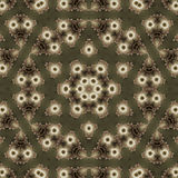 Abstract Ornament Fractal Geometry Style Stock Images