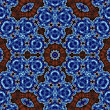 Abstract Ornament Fractal Geometry Style Royalty Free Stock Images