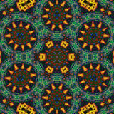 Abstract Ornament Fractal Geometry Style Stock Photography