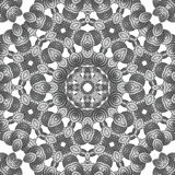 Abstract Ornament Fractal Geometry Style Stock Photos