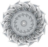 Abstract Ornament (no shadow) Stock Photography