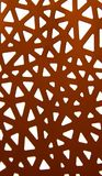 Abstract ornament of red paper Royalty Free Stock Image