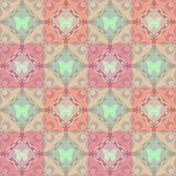 Abstract ornament seamless geometrical pattern Stock Photography