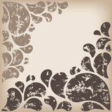 Abstract ornament - uitstekende stijl vector illustratie